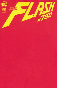 [Flash #750 (Blank Variant Edition) (Product Image)]