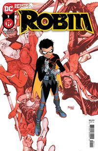 [The cover for Robin #1 (Cover A Gleb Melnikov)]