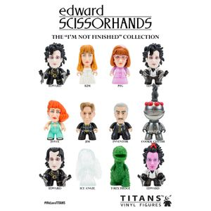 [Edward Scissorhands: TITANS: I'm Not Finished Collection (Complete Display) (Product Image)]