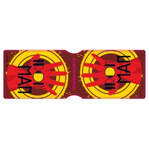 [Marvel: Travel Pass Holder: Iron Man Art Deco Logo Hand (Product Image)]