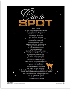 [Star Trek: The Next Generation: The 55 Collection: Art Print: Ode To Spot (Product Image)]