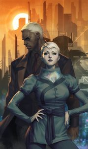[Blade Runner: Origins #1 (Forbidden Planet Exclusive Artgerm Virgin Variant) (Product Image)]
