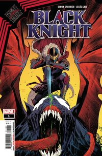 [The cover for King In Black: Black Knight #1]