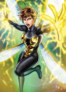 [Unstoppable Wasp #7 (Sujin Jo Marvel Battle Lines Variant) (Product Image)]