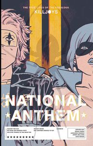 [The True Lives Of The Fabulous Killjoys: National Anthem (Library Edition Hardcover) (Product Image)]