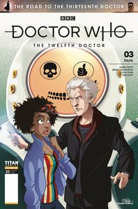 [Doctor Who: Road To 13th Doctor #3 (12th Cover C Florean) (Product Image)]