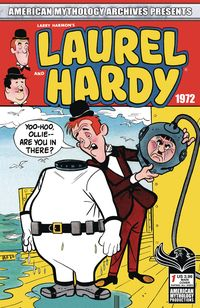 [The cover for American Mythology Archives Presents: Laurel & Hardy 1972 #1 (Cover A Classic)]