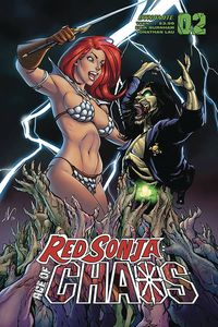 [Red Sonja: Age Of Chaos #2 (Cover D Garza) (Product Image)]