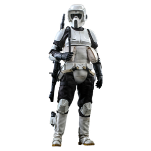 [Star Wars: Return Of The Jedi: Hot Toys 1/6 Scale Action Figure: Scout Trooper (Product Image)]