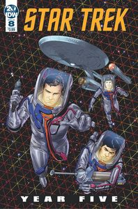 [Star Trek: Year Five #8 (Cover A Thompson) (Product Image)]