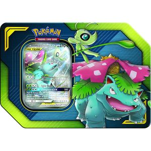 [Pokemon: Trading Card Game: GX TAG Team Tin: Celebi & Venusaur (Product Image)]