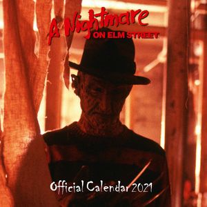 [A Nightmare On Elm Street: 2021 Square Calendar (Product Image)]