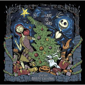 [Tim Burton's The Nightmare Before Christmas: Pop-Up Book & Calendar (Hardcover) (Product Image)]