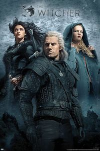[The Witcher: Poster: Yennefer, Geralt & Ciri (Product Image)]