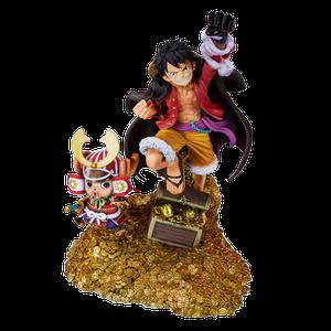 [One Piece: Figuarts ZERO Statue: Monkey D. Luffy (Oda Daikaizoku Hyakkei) (Product Image)]