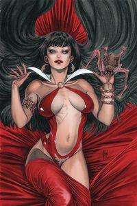 [Vampirella #10 (March Virgin Variant) (Product Image)]