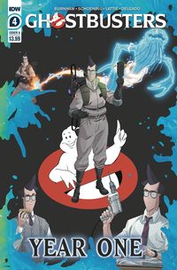 [The cover for Ghostbusters: Year One #4 (Cover A Shoening)]