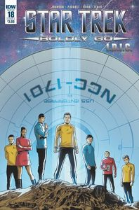 [Star Trek: Boldly Go #18 (Cover A Hood) (Product Image)]