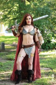 [Red Sonja: The Superpowers #3 (Cosplay Virgin Variant) (Product Image)]