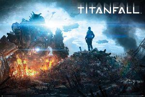 [Titanfall: Poster: IMC Pilot (Product Image)]