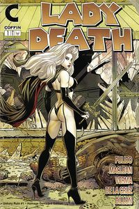 [Lady Death: Unholy Ruin #1 (Damaged Homage Edition) (Product Image)]