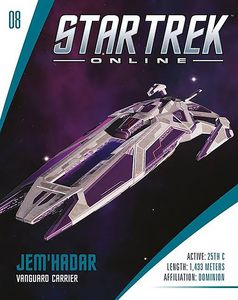 [Star Trek Online Starships #8: Vanguard Class Dominion Jem Hadar (Product Image)]