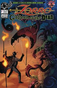 [Zorro: Galleon Of The Dead #1 (Cover B Wolfer) (Product Image)]
