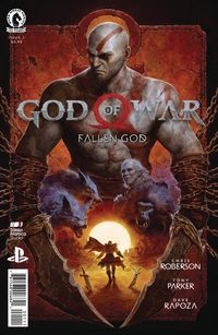 [The cover for God Of War: Fallen God #1]
