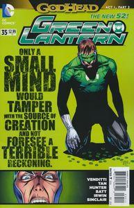 [Green Lantern #35 (Godhead) (Product Image)]