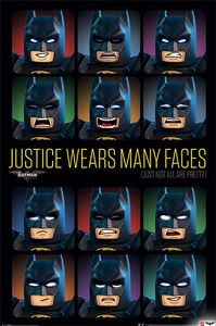 [DC: LEGO Batman: Poster: Justice Wears Many Faces (Product Image)]