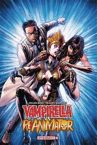 [Vampirella Vs Reanimator #4 (Cover A Desjardins) (Product Image)]