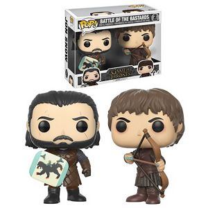 [Game Of Thrones: Pop! Vinyl Figure: battle Of The Bastards 2-Pack (Product Image)]