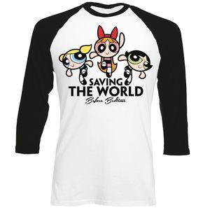 [Powerpuff Girls: T-Shirt: Saving The World Before Bedtime (Product Image)]