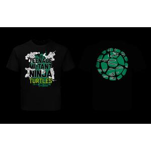 [Teenage Mutant Ninja Turtles: Children's T-Shirt: Turtles Quote (Filled) (Product Image)]