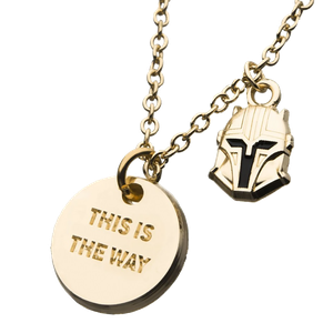 [Star Wars: The Mandalorian: Necklace: This Is The Way (Product Image)]