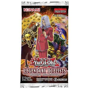 [Yu-Gi-Oh!: Legendary Duelists: Ancient Millennium Booster (Product Image)]