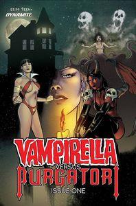 [Vampirella Vs Purgatori #1 (Sarraseca Bonus Variant) (Product Image)]