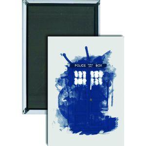 [Doctor Who: Magnet: mODERN ART TARDIS (Product Image)]