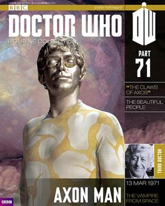 [Doctor Who: Figurine Collection Magazine #71 Axon Man (Product Image)]