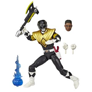 [Power Rangers: Lightning Collection Action Figure: Dragon Shield Black Ranger (Product Image)]