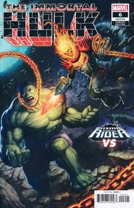 [Immortal Hulk #6 (Schoonover Cosmic Ghost Rider Variant) (Product Image)]
