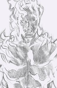 [Fantastic Four #24 (Human Torch Timeless Virgin Sketch Variant) (Product Image)]