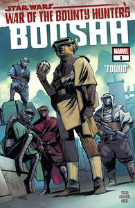 [Star Wars: War Of The Bounty Hunters: Boushh #1 (Product Image)]