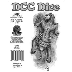 [Dungeon Crawl Classics: Dice: Hellcat (Product Image)]