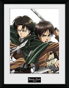 [Attack On Titan: Print: Eren & Levi (Product Image)]