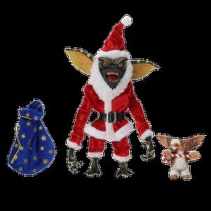 [Gremlins: Action Figure 2-Pack: Santa Stripe & Gizmo (Product Image)]