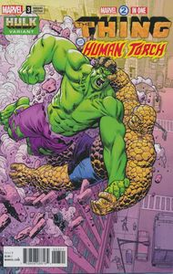[Marvel Two-In-One #3 (Hawthorne Hulk Variant Ww) (Legacy) (Product Image)]