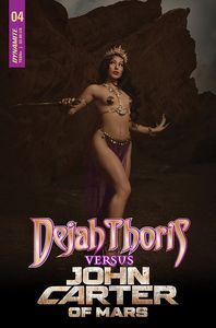 [Dejah Thoris Vs John Carter Of Mars #4 (Cover D Cosplay) (Product Image)]