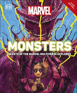 [Marvel Monsters: Beasts Of The Marvel Multiverse Explored (Hardcover) (Product Image)]