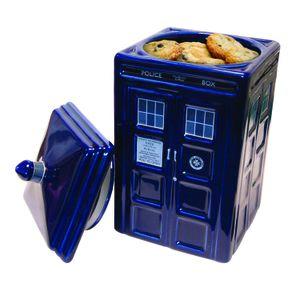 [Doctor Who: Ceramic Cookie Jar: TARDIS (Product Image)]